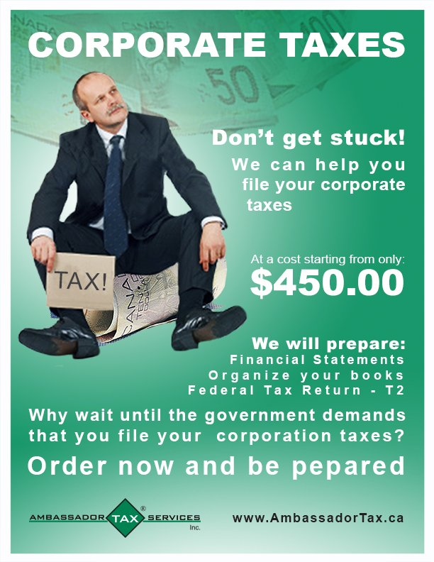 CAN-2-money-concept-Flyer-corporate-tax-sit-businesman