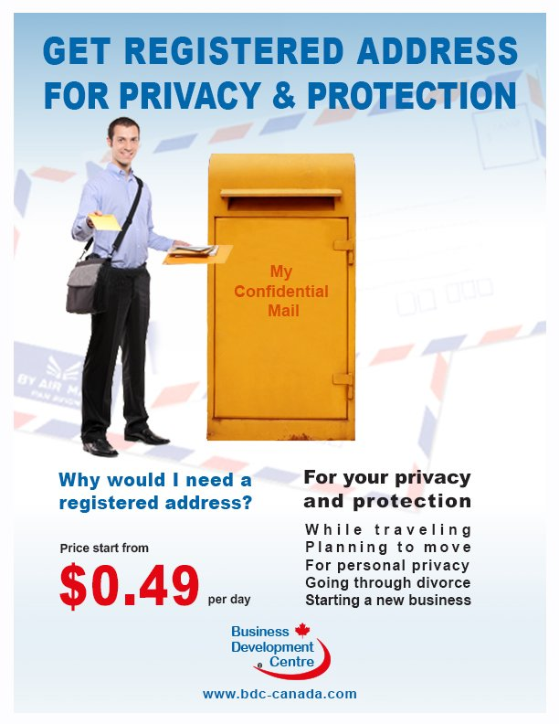 mail-box-yellow-Flyer-register-address-
